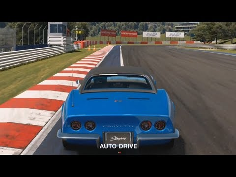 Gran Turismo Sport - Chevrolet Corvette Stingray Convertible (C3) - Test Drive Gameplay HD