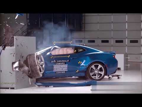 Краш Тест Шевроле Камаро - Crash Test Chevrolet Camaro
