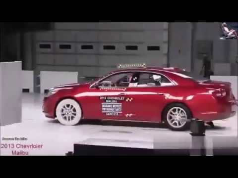 Краш Тест Шевролет Малибу 2013 - Crash Test Chevrolet Malibu 2013