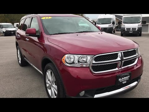 2013 Dodge Durango Awd Crew: Crew-awd-2nd Bench-third-nav-moon-hemi-1