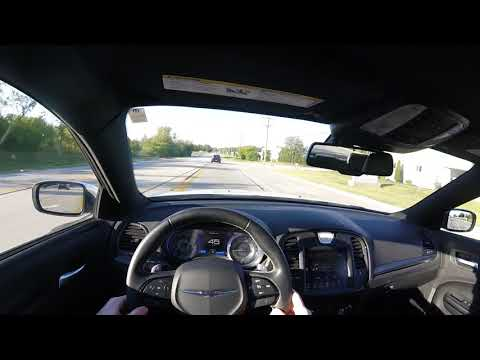 2018 Chrysler 300S Cabin Noise Test | POV Sport Mode Bumpy Road