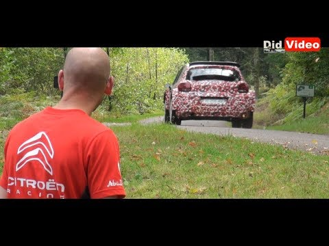 Citroen Racing D?veloppement C3 R5 Paolo Andreucci  -Didvid?o-
