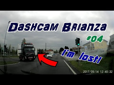 Dashcam Brianza - Bad drivers of Italy  - Guidatore modello... - #04