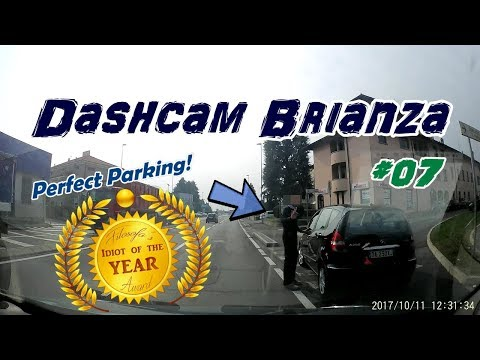 Dashcam Brianza - Bad drivers of Italy - Idiot of the year! - #07