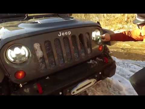 Jeep RUBICON. Тест-драйв