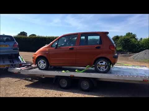 Daewoo Matiz going to the Scrapyard!