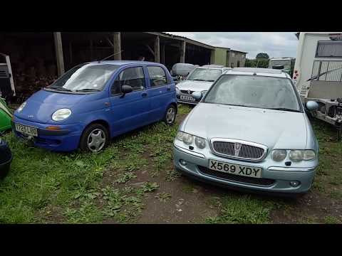 Daewoo Matiz news! Also, more Rover