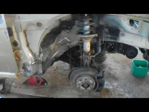 DAEWOO NUBIRA J150-FRONT END ENGINE CLEANING