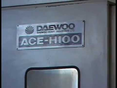 Last Test Daewoo Ace-H100