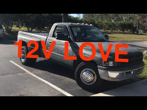 1994 Dodge Ram 3500 12 Valve Over Look + Lock Up Switch Install (47RH)