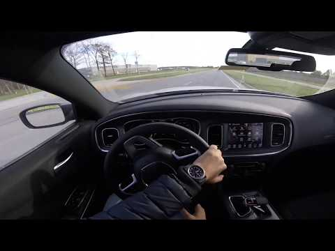 2017 Dodge Charger R/T Paddle Shifters POV Drive test