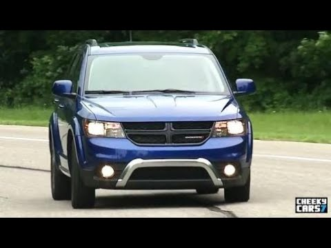 2017 Dodge Journey test drive