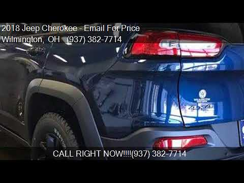 2018 Jeep Cherokee Trailhawk 4x4 4dr SUV for sale in Wilming