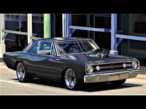 Modifikasi DODGE DART HEMI SUPER STOCK 1968 - Forza Horizon 3 Indonesia #Pimp My Ride Time