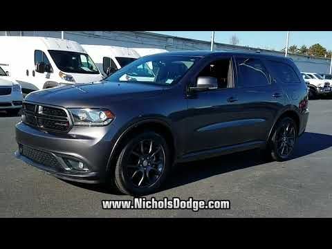 USED 2017 DODGE DURANGO R/T AWD at Nichols Dodge Chrysler Jeep #13746