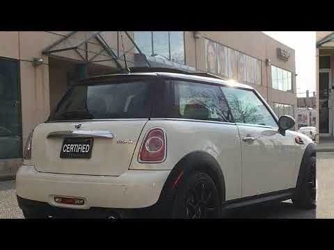 2012 MINI Cooper PANORAMIC SUNROOF/CERTIFIED