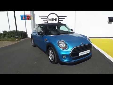 2016 Electric Blue MINI Cooper