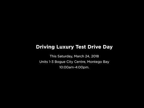 Driving Luxury Test Drive Day
