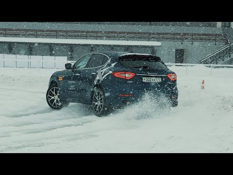 Larte Design - Maserati Levante TEST DRIVE in Moscow