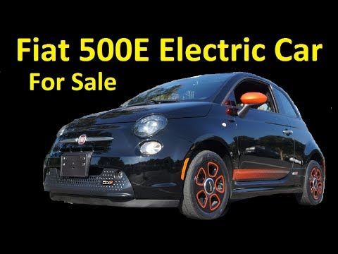 Fiat 500E Electric Car For Sale Interior & Test Drive Buy & Export