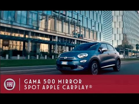 FIAT | Gama 500 Mirror con Apple CarPlay® Integrado | Spot