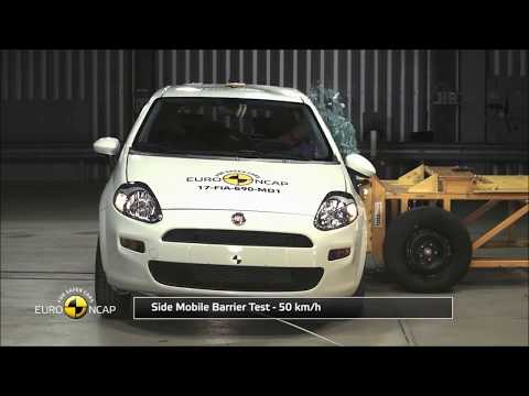 Fiat Punto Scored ZERO Star  in Euro NCAP Crash Test!!