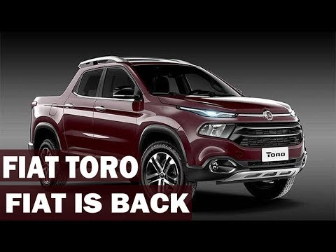 FIAT TORO - Specs and Walkaround - FIAT IS BACK