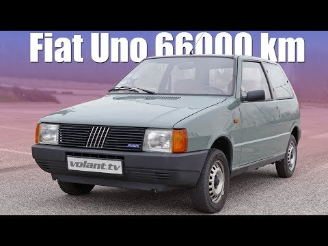 Fiat Uno so 66000 km je stroj ?asu - volant.tv