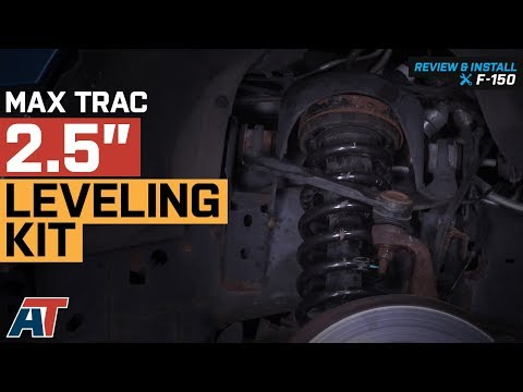 2004-2018 F150 Max Trac 2.5' Leveling Kit 2WD & 4WD Review & Install