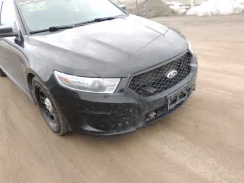 Auction #2046810 - 2014 Ford Taurus Interceptor, AWD, Ecoboo