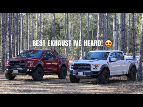 BEST SOUNDING 2018  FORD RAPTOR ECOBOOST EXHAUST!! SUPERCREW & SUPERCAB COMPARISON!