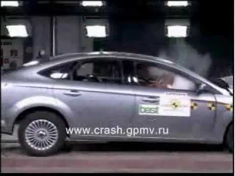 CRASH TEST Ford Mondeo 2007
