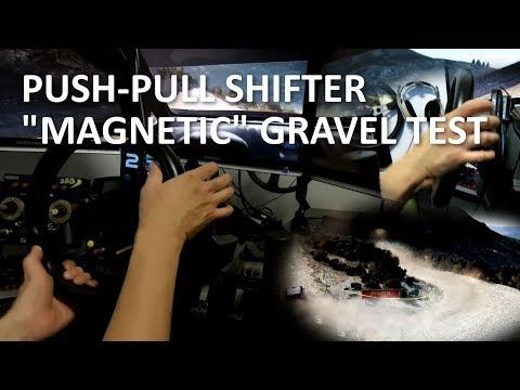 Dirt Rally - Magnetic Push-Pull Shifter Test - Ford Fiesta WRC - Greece