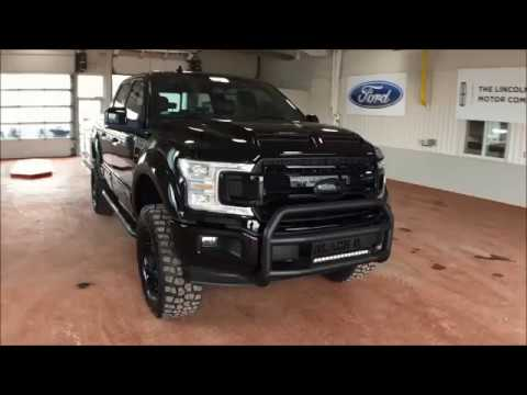 Donnelly Ford Custom 2018 lineup - Tuscany Black Ops F-150
