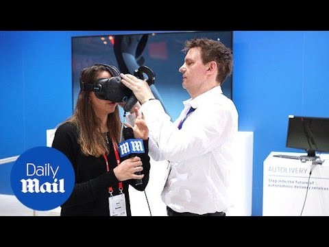 MailOnline test Ford's 'Autolivery' virtual reality experience - Daily Mail