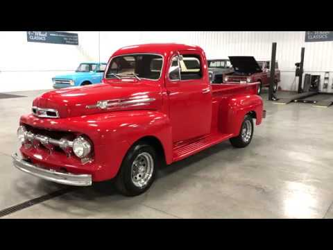 NICELY RESTORED 1952 FORD F1 FROM THE PACIFIC NORTHWEST!!