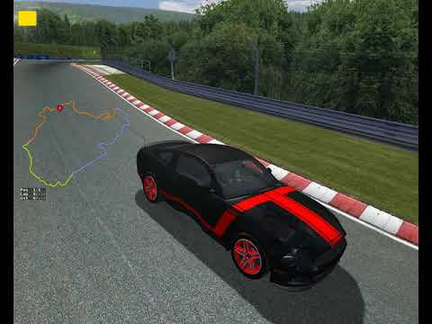 POV Drive: FORD MUSTANG BOSS 302 around the NURBUNGRING (rFactor)