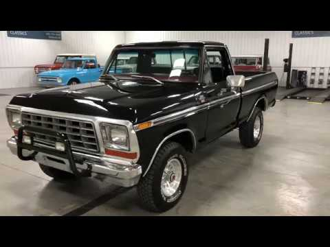 RARE SHORT BOX 1978 FORD F150 RANGER XLT 4 SPEED FROM CALIFORNIA!!
