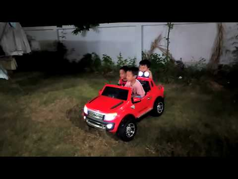 Test drive Ford ranger ???????..Car toy for kid