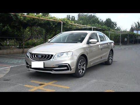 2018 GEELY EMGRAND GT Review  Обзор  Джили Эмгранд