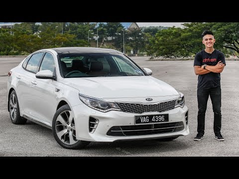 FIRST DRIVE: 2017 Kia Optima GT Malaysian review – RM175k