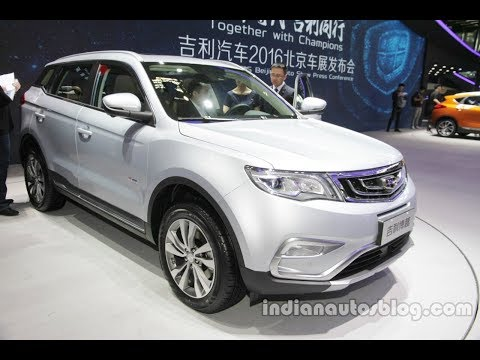 Geely-based Proton SUV to launch only in late-2018 – Malaysia