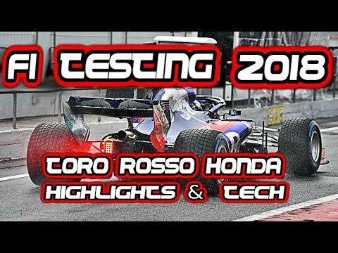 ??? F1 2018 testing test HONDA TORO ROSSO STR13 TECHNICAL TECH testing test