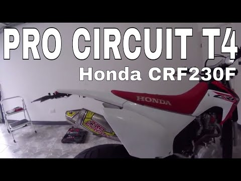 Escape Pro Circuit - T4 Full System - Sound Test Honda CRF 230