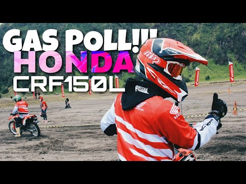 Full Throttle Test Honda CRF150L!! | Lautan Pasir Gunung Bromo | Dji Drone