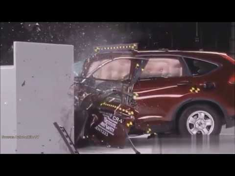Краш Тест Хонда CRV - Crash Test Honda CRV