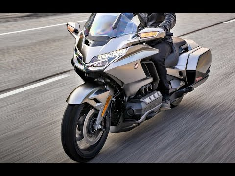 Powerful Engine Test Honda Gold Wing GL1800 - 2018