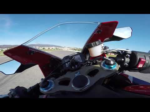Test Drive Honda CBR1000RR at Autodromo do Algarve in Portimao