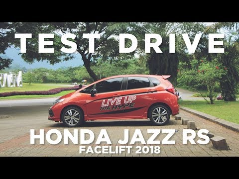 Test Drive Honda Jazz RS Facelift 2018