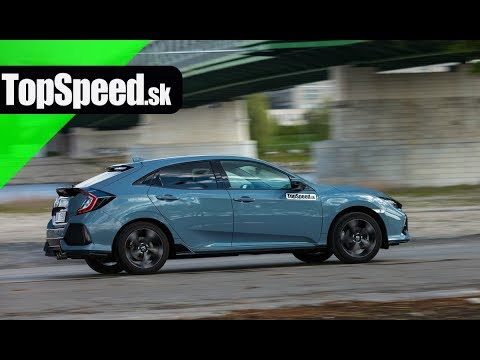 Test Honda Civic 1.5turbo 10G - Maro? ?AB?K TopSpeed.sk